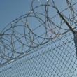 Prison Security Fence — Stock Photo