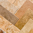 Brown Stone Tile Samples — Stock Photo