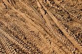Mountain Bike Tracks — Stock Photo