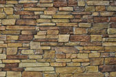 Multi Color Stone Wall used for Background — Stock Photo