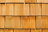 Wood Shingle Background — Stock Photo