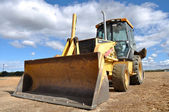 Backhoe Tractor Construction — Stock Photo