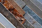 Ceramic Tile Display Samples — Stock Photo