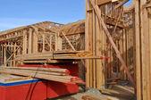 Chantier de construction de maison — Photo