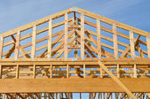 New Home Construction Site — Stock Photo
