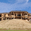 New Large Home Under Construction — Foto Stock