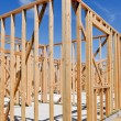Stock Photo: Residential Home Construction