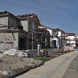 Residential Homes Under Construction - Stock Photo