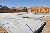 Nieuwe huis stichting — Stockfoto