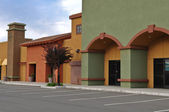 New Shopping Center Store Front — Stock Photo