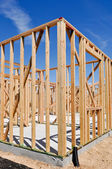 Residential Home Construction — Stock Photo