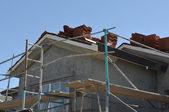 Telhado em construção — Fotografia Stock