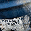 Hazardous Waste — Stock Photo