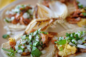 Auténticos tacos mexicanos calle — Foto de Stock
