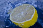 Lemon Water — Stock Photo