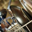 Dirty Dishes in Dishwasher — Stock Photo #10363765