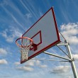 Basketball Hoop with Clouds - Foto de Stock