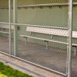 Empty Baseball Dugout — Stock Photo #10394876