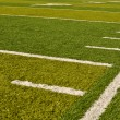 Football Field Sideline — Foto Stock