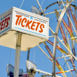 Tickets at Ferris Wheel — Stock Photo