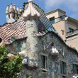BARCELONA, SPAIN - 25 JULY, 2010: Exterior of Casa Batllo on Jul — Stock Photo