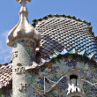 Stock Photo: BARCELONA, SPAIN - 25 JULY, 2010: Exterior of Casa Batllo on Jul