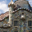 BARCELONA, SPAIN - 25 JULY, 2010: Exterior of Casa Batllo on Jul — Stock Photo #10395716