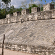 Coba Mayan Court Game Ancient Ruins in Mexico — Foto Stock