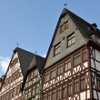 German Homes with Blue Sky - Foto Stock