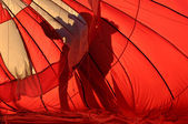 Hot Air Balloon Silhouette — Stock Photo