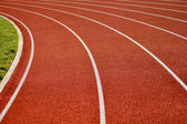 Pista de Atletismo de Head start — Foto de Stock