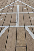 Shuffle Board on a Cruise Ship — Stock Photo