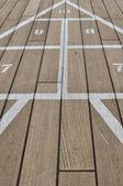 Shuffle Board on a Cruise Ship — Stock Photo