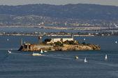 在旧金山海湾的恶魔岛监狱 — 图库照片