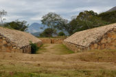 Ancien jeu de balle amérindien — Photo