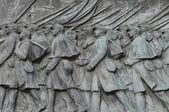 статуя голгофе гражданской войны — Стоковое фото