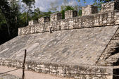 Coba Mayan Court Game Ancient Ruins in Mexico — Stock Photo