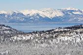 Lake Tahoe California in Winter — Stock Photo