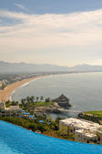 Beautiful spacious view of Manzanillo Mexico — Stock Photo