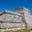 Royalty-Free Stock Photo: Tulum Mexico Maya Ruin