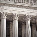 United States Supreme Court — Stock Photo #10413089