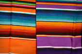Mayan Mexican Colorful Blankets — Stock Photo