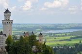 Neuschwanstein Castle — Стоковое фото