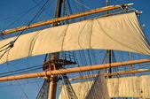 Mástil de barco pirata — Foto de Stock