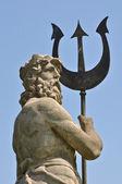 Poseidon with Triton from Atlantis — Stock Photo