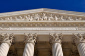 United States Supreme Court Pillars — Stock Photo