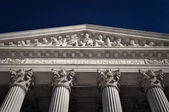 US Supreme Court Equal Justice Under Law — Stock Photo