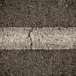 Asphalt Divided Line — Stock Photo #9939220