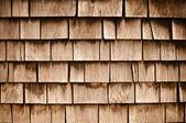 Shingle Aged Wooden Background — Stock Photo