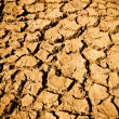 Stock Photo: Cracked Mud Arid Ground